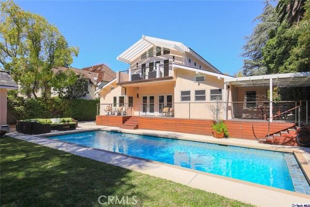 Single Family Home for Sale at 732 Pinehurst Drive Pasadena, California 91106 United States