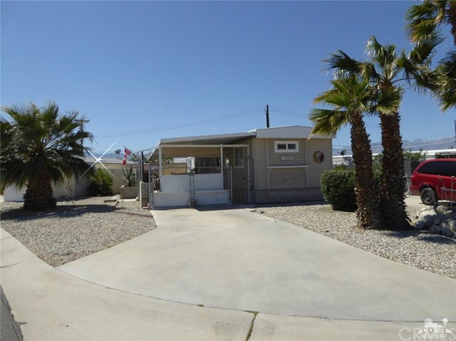 Photo of home for sale at 73083 Banff Street, Thousand Palms CA