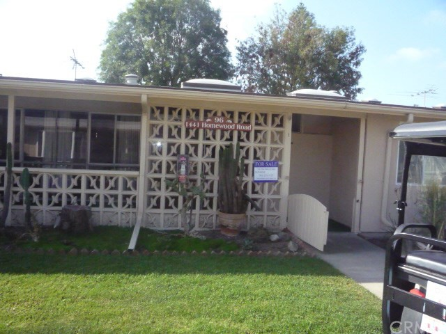 1441 Homewood Road Unit 96I, Seal Beach CA 90740