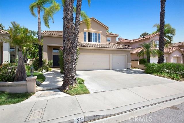 Single Family Home for Sale at 21 Via Anadeja Rancho Santa Margarita, California 92688 United States