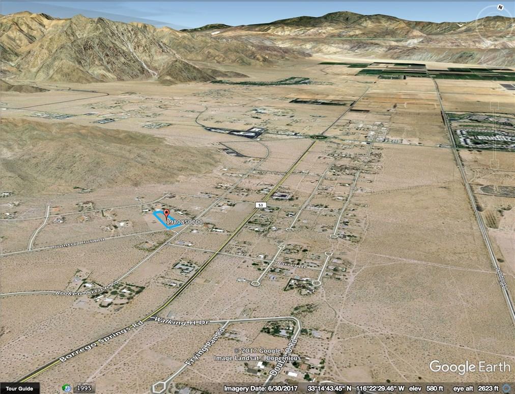 0 Country Club Road Borrego Springs, CA 92004 - MLS #: SW17255206