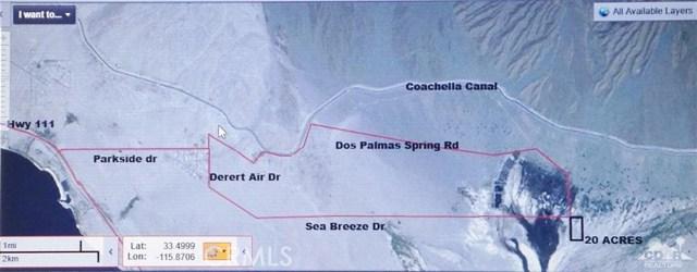 Dos Palmas Coachella, CA 92254 - MLS #: 217020958DA