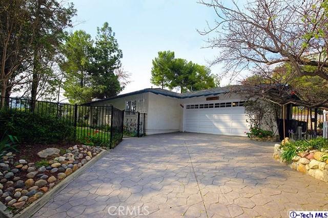 3609 Fullmoon Drive, Glendale, CA, 91206