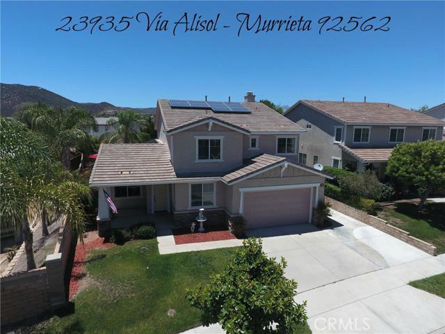 Property for sale at 23935 Via Alisol, Murrieta,  CA 92562