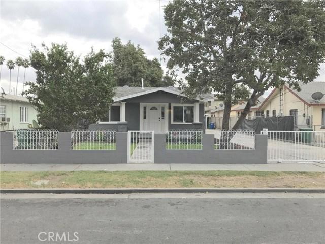 Single Family Home for Sale at 6318 Loma Vista Avenue Bell, California 90201 United States