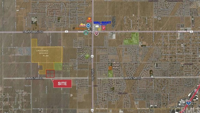 Single Family for Sale at 0 La Mesa Road Victorville, California United States
