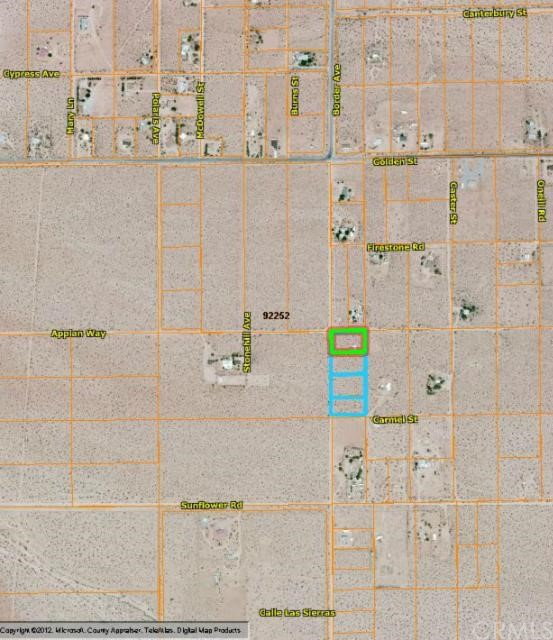 Additional photo for property listing at 0 Border  Joshua Tree, California 92252 United States