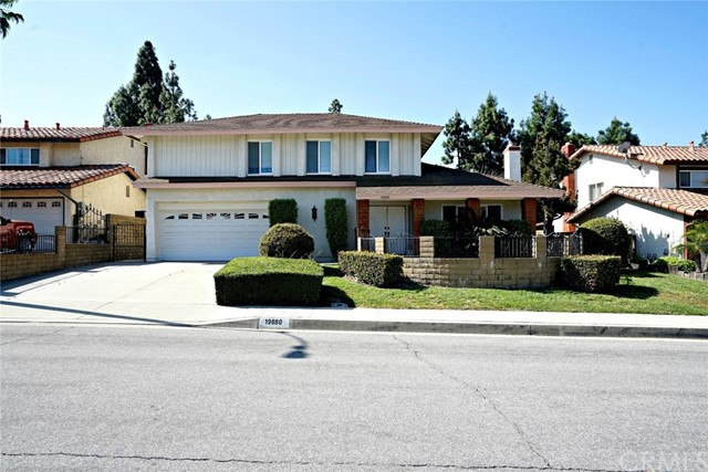 19880  Vista Hermosa Drive, Walnut in Los Angeles County, CA 91789 Home for Sale