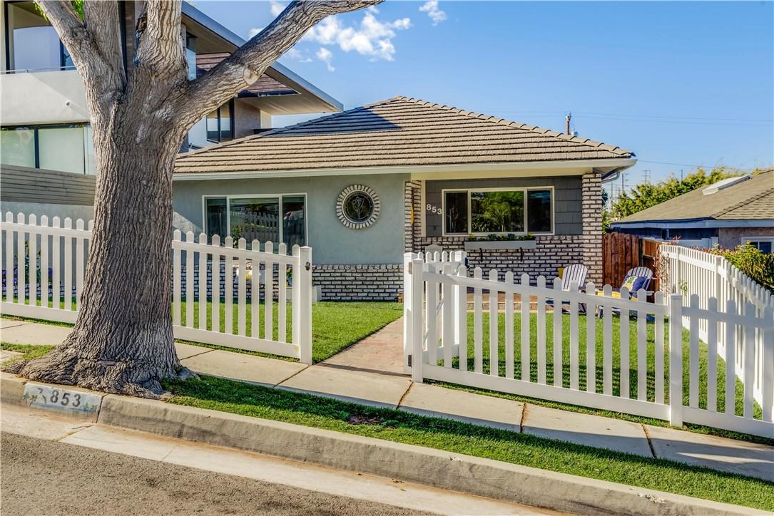 853  Avenue C, Redondo Beach in Los Angeles County, CA 90277 Home for Sale