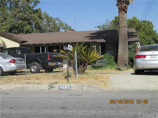 Single Family Home for Sale at 4051 F Street N San Bernardino, California 92407 United States