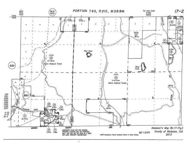 Parcel 1 Worman Road, Ahwahnee, CA, 93601