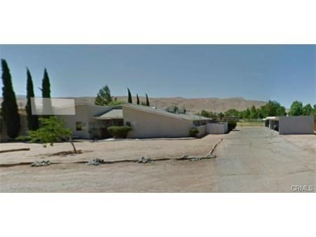 21873 Panoche Road Apple Valley CA  92308