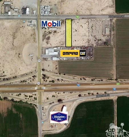 Photo of home for sale at 3.95 ac Hobson way, Blythe CA