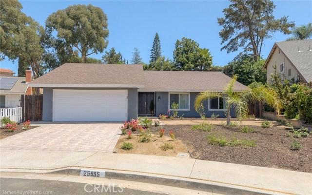 25995 Corriente Lane, Mission Viejo, CA 92691