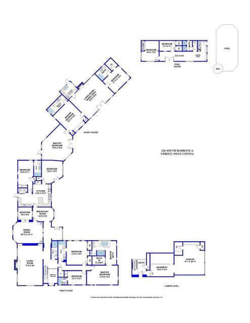 独户住宅 为 销售 在 226 S Barranca Street 西柯维纳市, 91791 美国