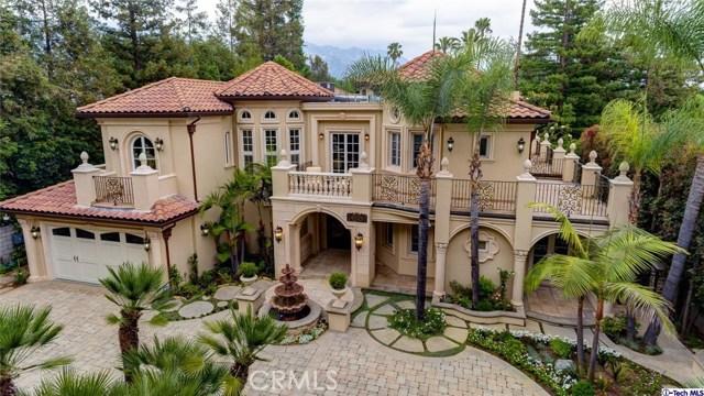 Single Family Home for Sale at 4428 Woodleigh Lane La Canada Flintridge, California 91011 United States