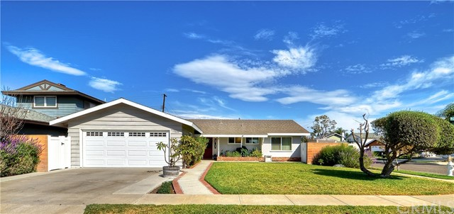 Single Family Home for Sale at 17600 Santa Rosalia Street Fountain Valley, California 92708 United States