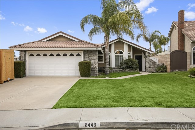 One of Single Story Anaheim Hills Homes for Sale at 8443 E Meadowridge Street