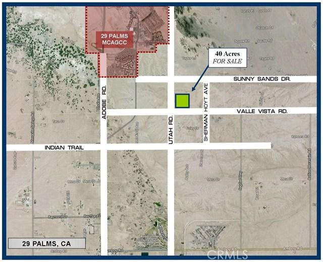 0 Valle Vista Road, 29 Palms, CA, 92277