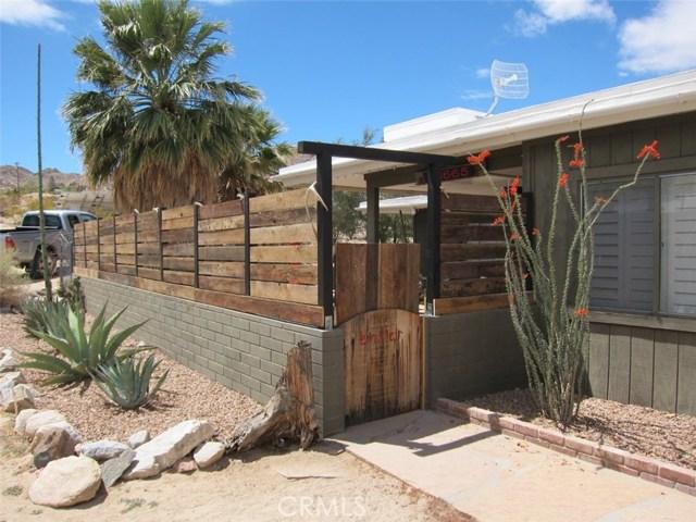 Single Family Home for Sale at 63665 Sullivan Road Joshua Tree, California 92252 United States