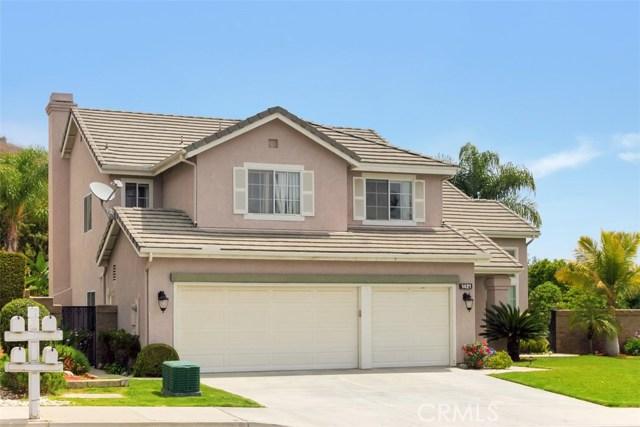 1421 Rancho Hills Drive  Chino Hills CA 91709