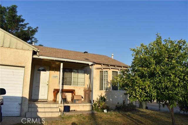 1649 Genevieve Street San Bernardino, CA 92405 - MLS #: CV17145613