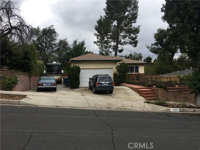 7820 Ellenbogen Street Sunland, CA 91040 - MLS #: CV17223141