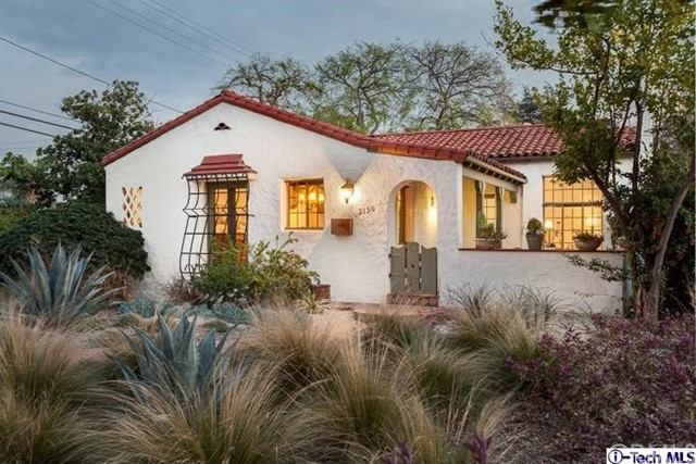 Single Family Home for Sale at 2130 Las Lunas Street Pasadena, California 91107 United States