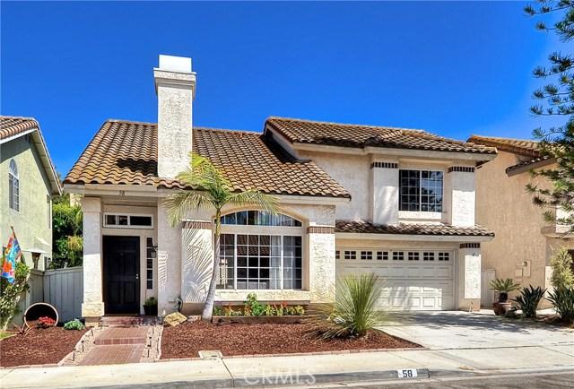 Single Family Home for Sale at 58 Hummingbird Lane Aliso Viejo, California 92656 United States