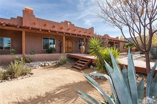 Single Family Home for Sale at 7423 Juniper Road Joshua Tree, California 92252 United States