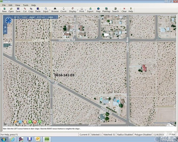 Sullivan Road, 29 Palms, California, 92277