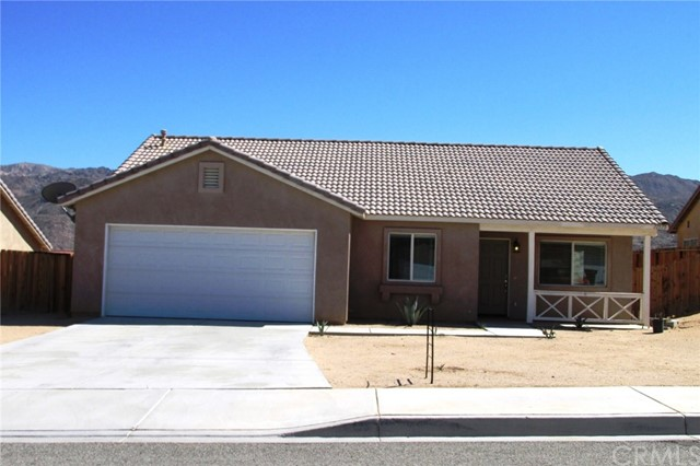 Single Family Home for Rent at 71575 SUN VALLEY Drive 29 Palms, California 92277 United States