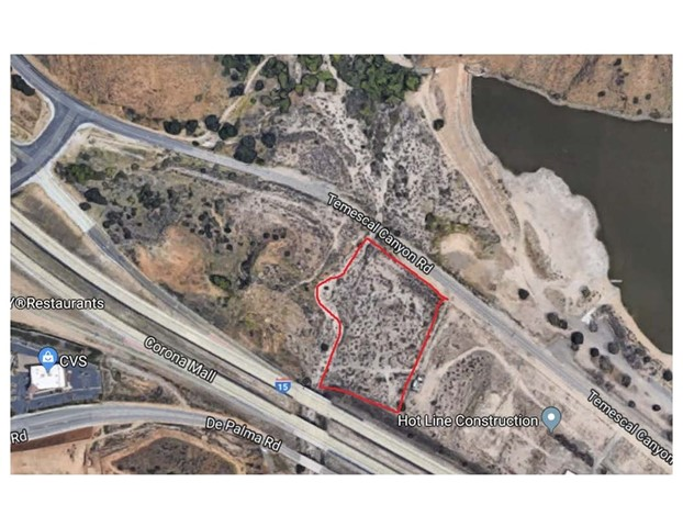 12344 Temescal Canyon Road Corona, CA 0 - MLS #: NP18118635