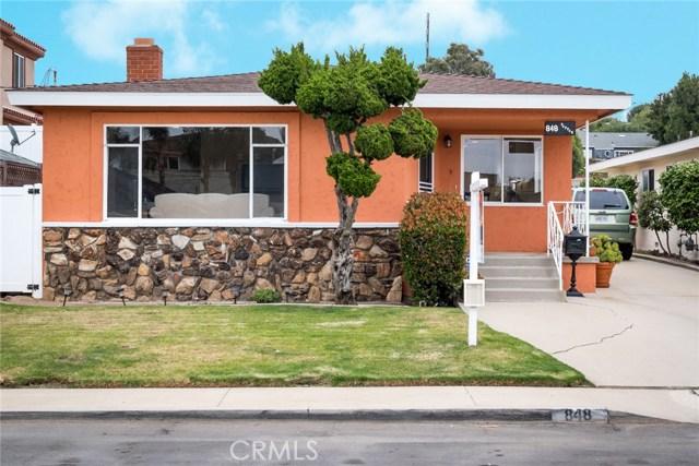 Single Family Home for Sale at 848 Pepper Street El Segundo, California 90245 United States