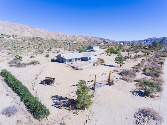 Single Family Home for Sale at 9281 N Star Trail 9281 N Star Trail Morongo Valley, California 92256 United States
