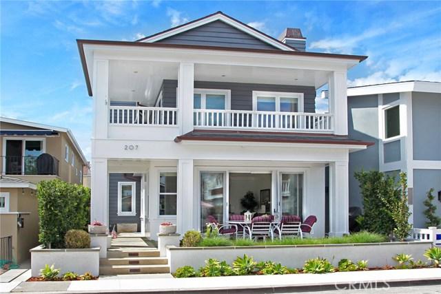 207 Onyx Avenue  Newport Beach CA 92662