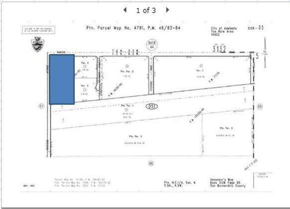 0 Rancho Adelanto, CA 92301 - MLS #: PW18075219