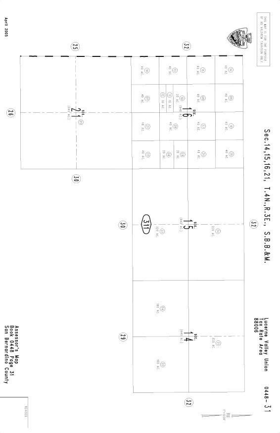 448 -311-12 Johnson Valley Johnson Valley, CA 92285 - MLS #: SW17247316