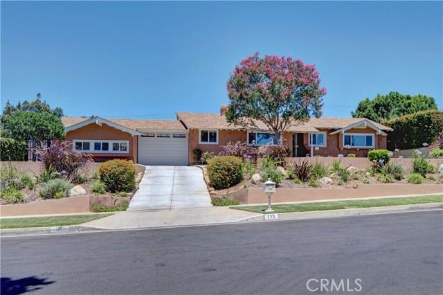 113 Madelena Drive La Habra Heights, CA 90631 - MLS #: PW17148267