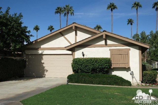 Photo of home for sale at 166 Madrid Avenue, Palm Desert CA