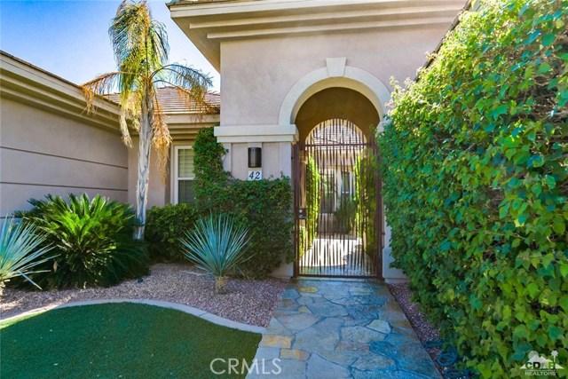 42 Calle Del Norte Rancho Mirage, CA 92270 - MLS #: 217027582DA