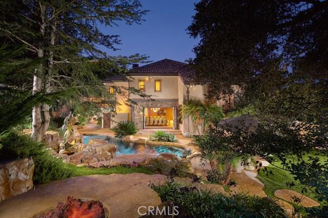 Single Family Home for Sale at 30822 Via Vista Coto De Caza, California 92679 United States