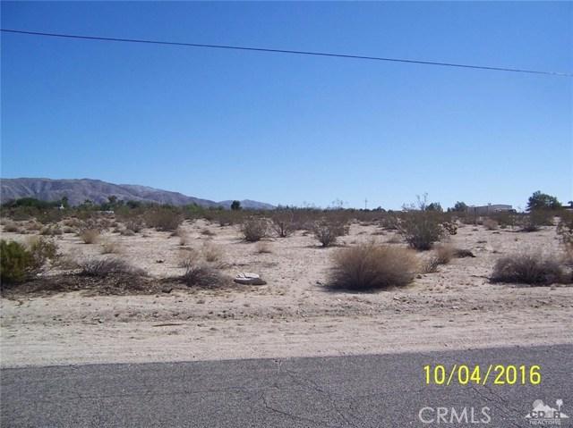 Photo of home for sale at Bennett Road, Desert Hot Springs CA