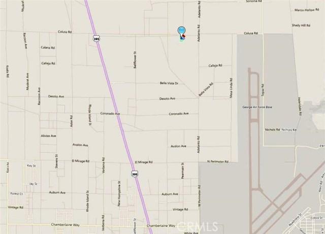 0 Colusa & Pearmain Road Adelanto, CA 92301 - MLS #: TR18031025