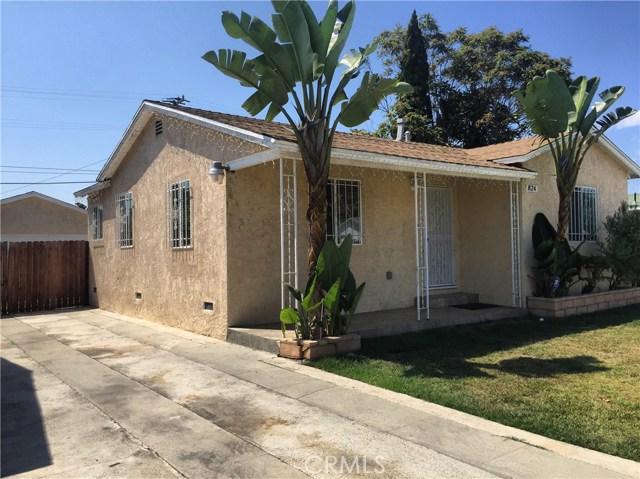 824 W 134th Street Compton, CA 90222 - MLS #: DW17207917