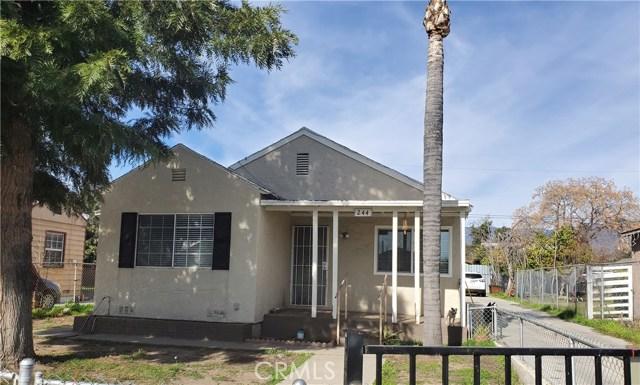 244 Olive Street San Bernardino CA 92410