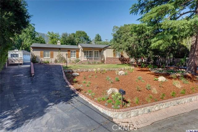Single Family Home for Sale at 2653 Orange Avenue La Crescenta, California 91214 United States