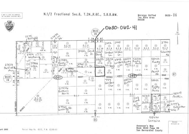 Additional photo for property listing at 0 Rocky Acres  Landers, California 92285 United States