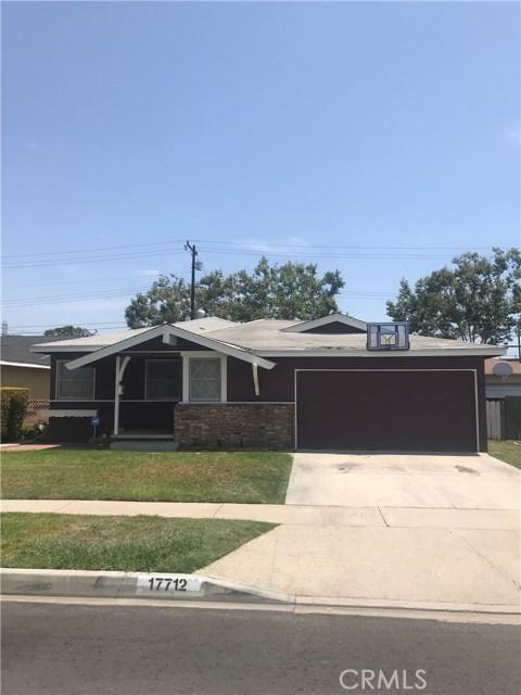 17712 Balfern Avenue Bellflower, CA 90706 - MLS #: WS18187336