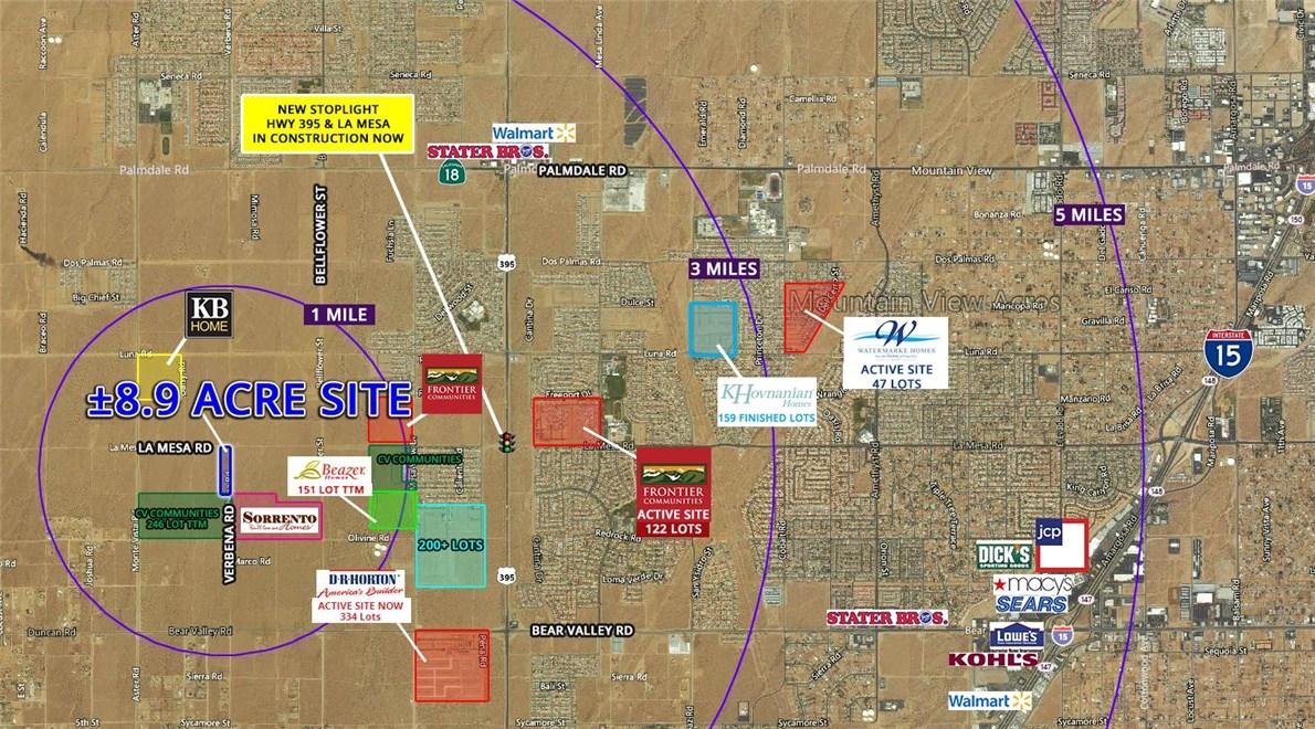 0 La Mesa Road Victorville, CA 92392 - MLS #: OC18170726